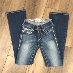 Ariat women's blue jeans